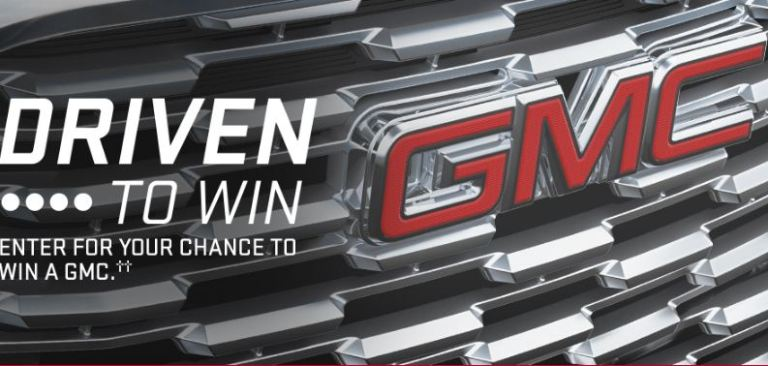 GMC Canada Driven to Win Contest - Win Car