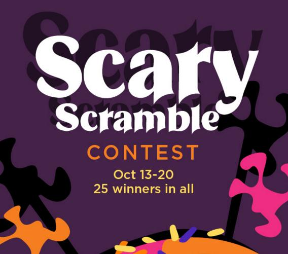 Imperial Sugar Scary Scramble Contest – Win Prize