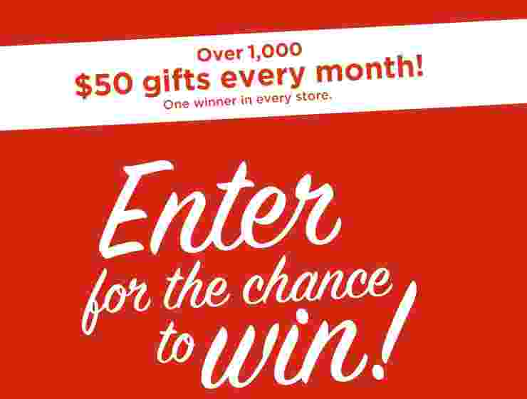 Kohls Rewarding The Everyday Sweepstakes - Win Gift Card