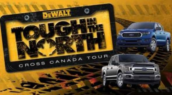 DeWalt Tough In The North Tour Contest - Win Car