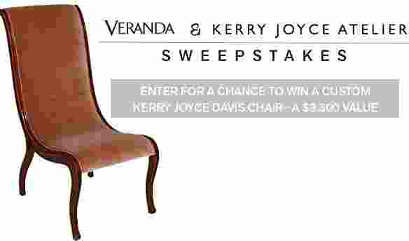 Veranda Kerry Joyce Sweepstakes - Win Prize