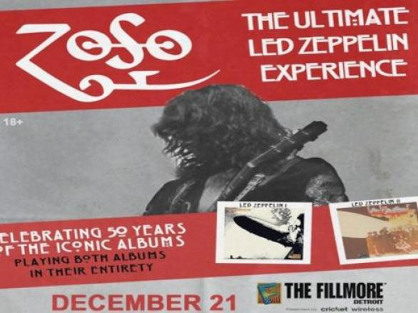 WCSX Ultimate Led Zeppelin Experience Contest – Win Tickets