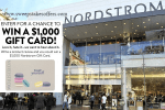 Nordstrom Product Review Sweepstakes