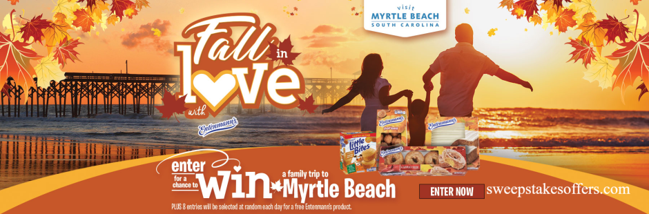 Fall in Love and Visit Myrtle Beach Giveaway