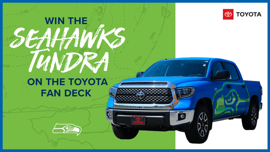 Seahawks Tundra Giveaway - Win Tickets