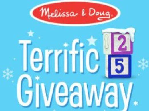 Melissa and Doug Terrific 25 Giveaway - Win Prize