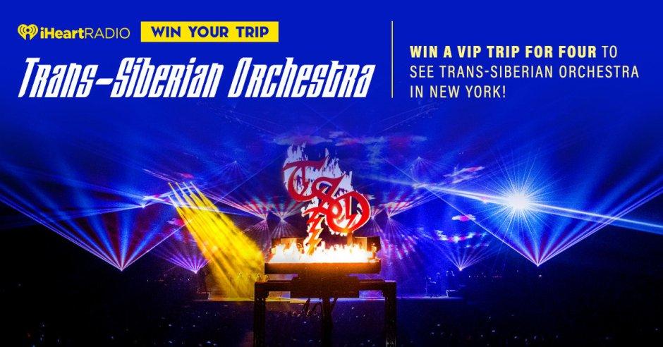 iheartradio Trans Siberian Orchestra Contest - Win Trip