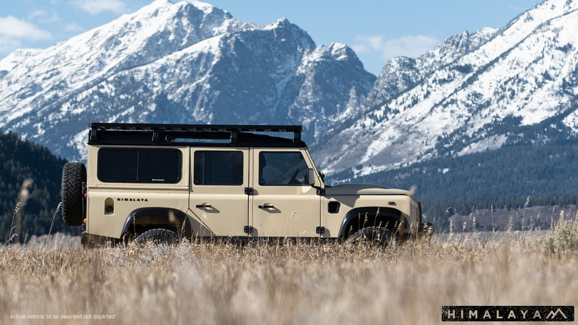 Omaze Land Rover Defender Sweepstakes - Win Car