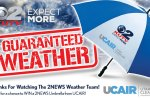 KUTV Guaranteed Weather Umbrella Sweepstakes - Win Prize