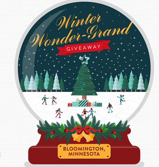 Bloomington Winter Wonder Grand Giveaway- Win Gift Card
