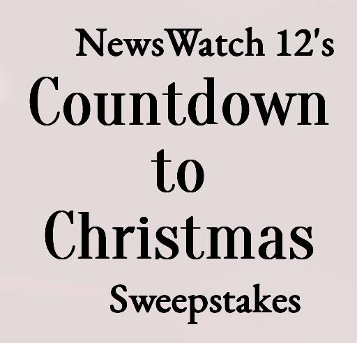 News Watch 12 Countdown To Christmas Sweepstakes - Win Gift Card