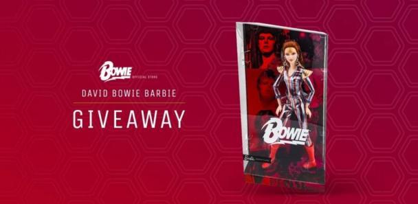 David Bowie Barbie Giveaway - Win Prize