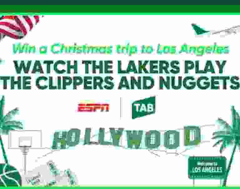 ESPN NBA Christmas Consumer Contest - Win Trip