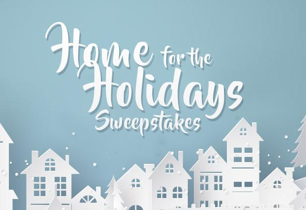 Frankly Home For The Holidays Sweepstakes - Win Cash Prizes