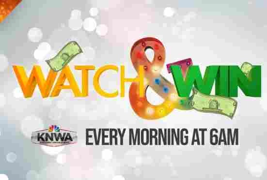 KNWA TV Morning Watch and Win Sweepstakes - Win Gift Card