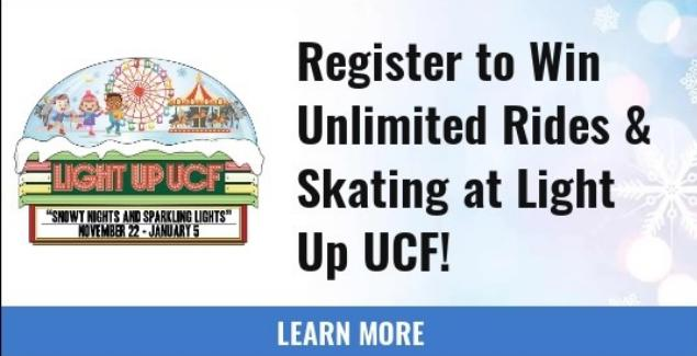 WKMG Light Up UCF Contest - Win Tickets