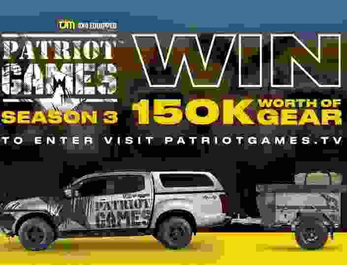 Patriot Games Season 3 150K Gear Contest - Win Car