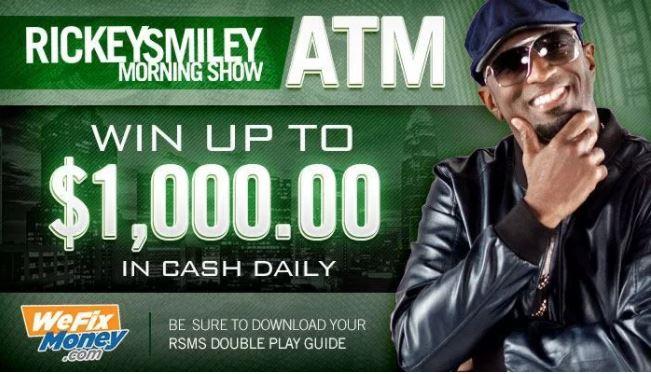 Rickey Smiley ATM Contest - Win Cash Prizes