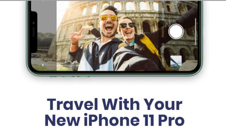 Travel With Your New IPhone 11 Pro Giveaway – Win Prize