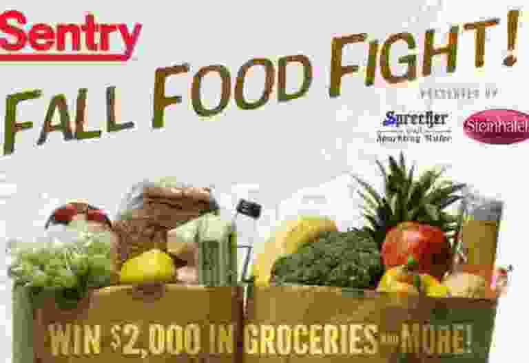 Fall Food Fight Contest - Win Gift Card