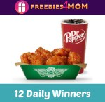 Dr Pepper Wingstop Tickets and Tailgates Sweepstakes - Win Gift Card