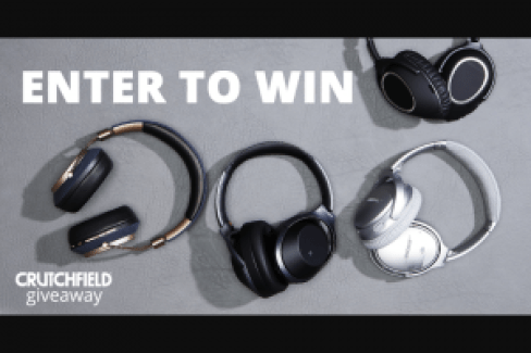 Crutchfield True Wireless Great Gear Giveaway - Win Prize