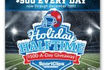 Sport Clips Holiday Halftime Sweepstakes - Win Gift Card