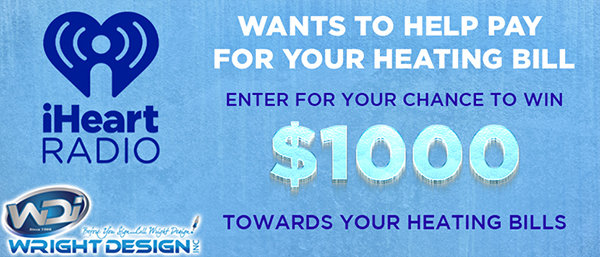 IHeartRadio Pay Your Heating Bill Sweepstakes - Win Cash Prizes