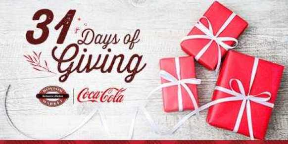 Boston Market 31 Days Of Giving Sweepstakes - Win Tickets
