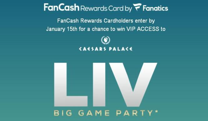 Big Game Day Experience Sweepstakes - Win Trip