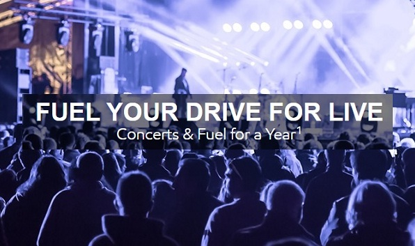The Fuel Your Drive for Live Sweepstakes - Win Gift Card