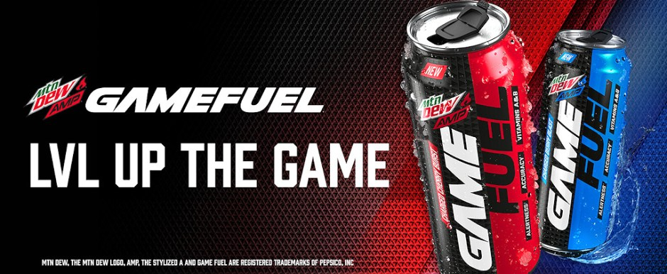 MTN Dew Amp Game Fuel Sweepstakes - Win Cash Prizes