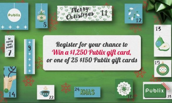 WSBTV Publix Holiday Sweepstakes - Win Gift Card