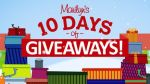 Marilyn 10 Days of Giveaway Contest - Win Prize