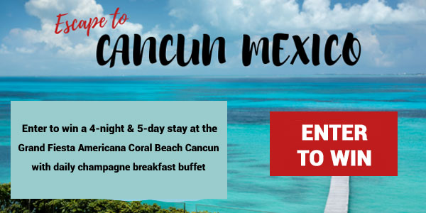 Good Housekeeping Cancun Trip Sweepstakes - Win Trip