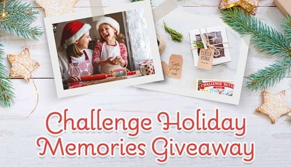 Challenge Butter Holiday Memories Giveaway - Win Gift Card