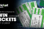 Cricket Wireless Win Concert Tickets for a Year Sweepstakes