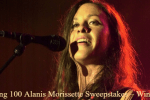 Lightning 100 Alanis Morissette Sweepstakes – Win Tickets