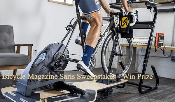 Bicycle Magazine Saris Sweepstakes - Win Prize