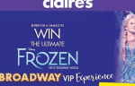 Claire's Frozen Broadway Experience Sweepstakes - Win Trip