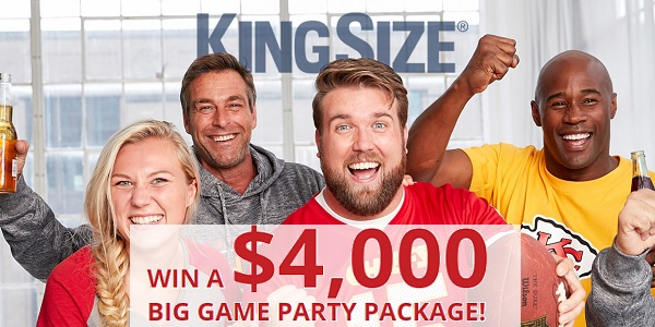 KingSize Big Game Sweepstakes - Win Prize