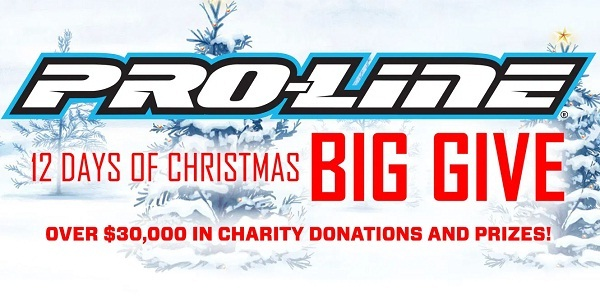 Pro Line Racing 12 Days of Christmas Big Give Sweepstakes
