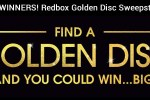 Redbox Golden Disc Sweepstakes - Win Prize