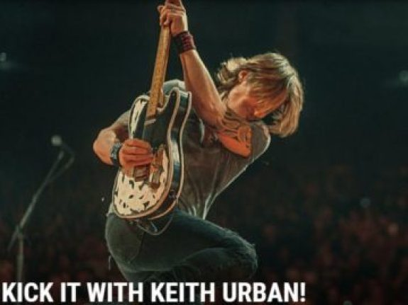 The Boot Kick It With Keith Sweepstakes - Win Tickets