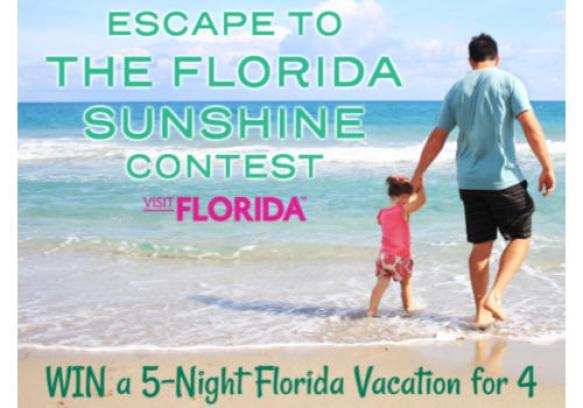 The Weather Network Escape to Florida Sunshine Contest