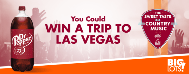 Big Lots Sweet Taste of Music Sweepstakes - Win Trip