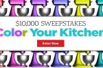 All Recipes Color Your Kitchen $10000 Sweepstakes