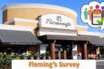 Flemings Listens Customer Feedback Survey - Win Prize