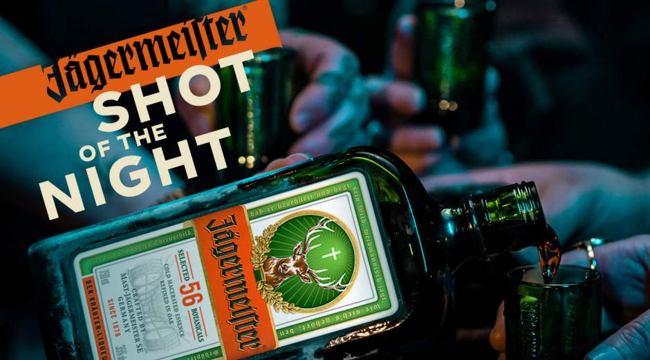 Jagermeister Shot of the Night Sweepstakes - Win Prize