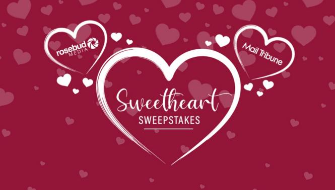 Mail Tribune Sweetheart Sweepstakes - Win Gift Card